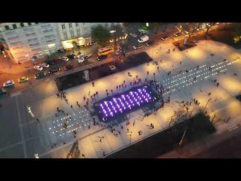 lvivadm: Біля львівської опери запрацював оновлений фонтан