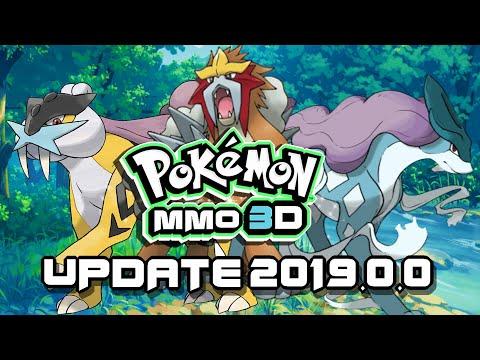 Pokemon MMO 3D - UPDATE 2019.0.0 - Livestream
