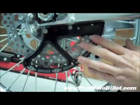Disc Guard And Chain Blocks Honda 2012 250f