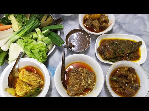 Aung Thuka Traditional Myanmar food ร้านอาหารพม่ายอดนิยมในย่างกุ้ง