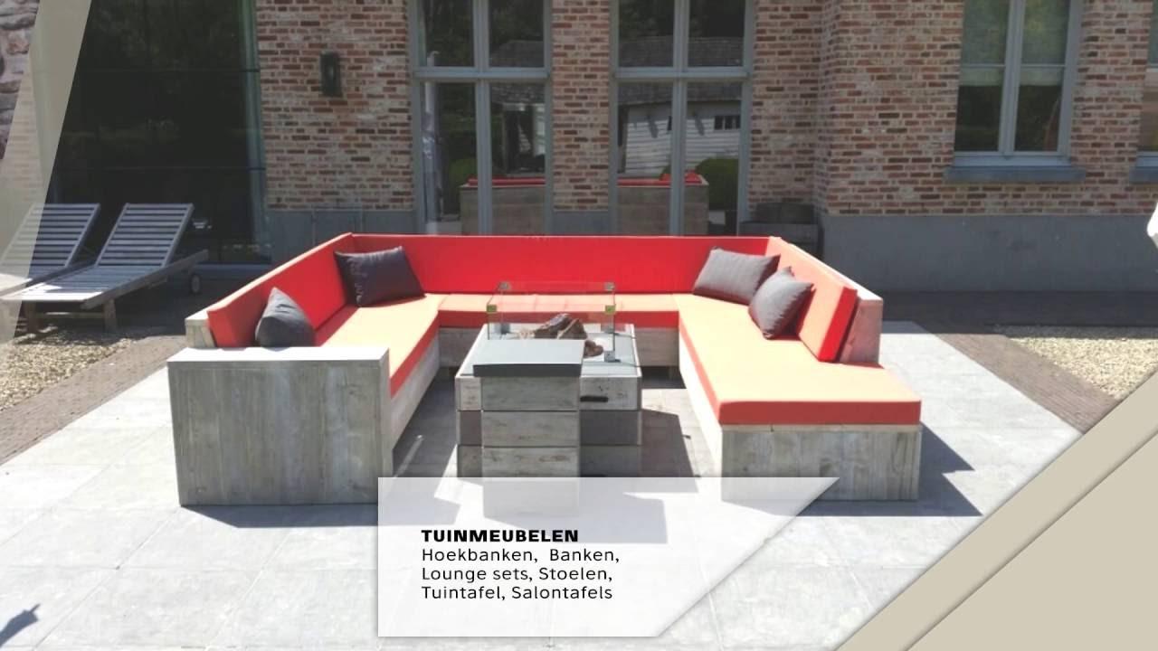 Complete Woon Eetkamer.Meubels Van Steigerhout Tuinmeubelen Woon Eetkamer Slaapkamer