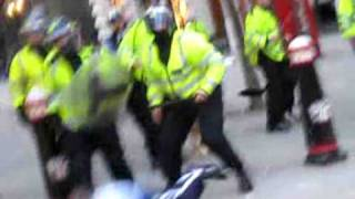 Video of police assault on Ian Tomlinson, who died at the London G20 protest