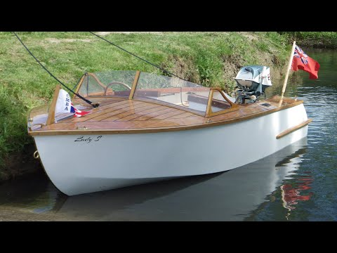 Lady S | The Boat Build Project 2012 | Wooden Runabout Boat Build | Playboy Plans by William Jackson