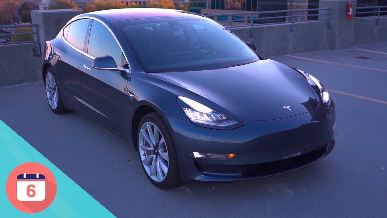 Tesla Model 3 Top 6 Features