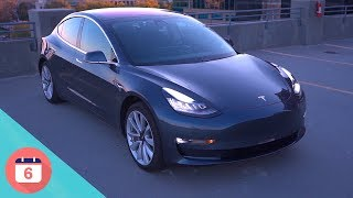 Tesla Model 3 - Top 6 Features