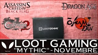 """LootGaming - UNBOXING di """"Mythic"""" (Novembre 2016): che cosa contiene ( #LootGaming #Mythic )"""