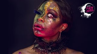 I 7 VIZI CAPITALI / 7 DEADLY SINS MAKEUP • TOP 20 • NYX PROFESSIONAL MAKEUP FACE AWARDS 2016