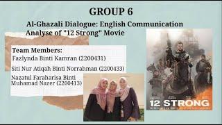 Al-Ghazali Dialogue: English Communication - Group 6 (1TML2)