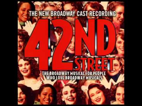 42nd Street 2001 Revival Broadway Cast  3 Young and Healthy