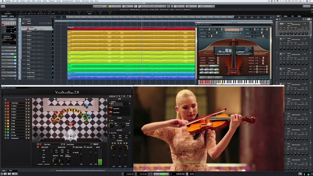 Audio Modelling SWAM Engine - SWAM Violin v2 0 1