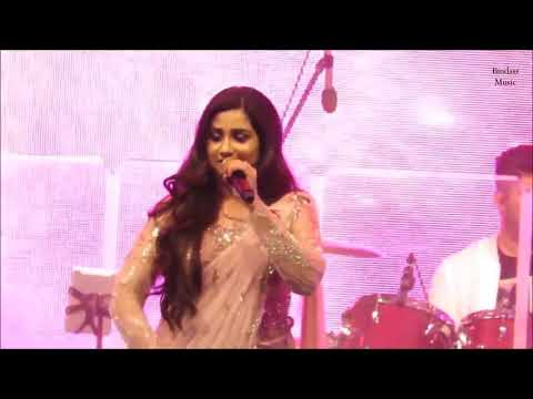 Shreya Ghoshal singing Ghoomar || Shreya Ghoshal live in Dubai Global Village