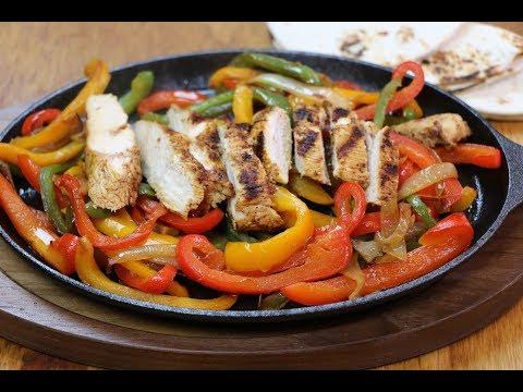 Chicken Fajitas Recipe How to Make Sizzling Chicken Fajitas
