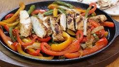 Chicken Fajitas Recipe - How to Make Sizzling Chicken Fajitas