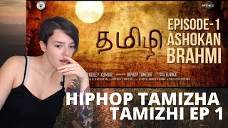Hiphop Tamizha - #Tamizhi | Episode 1 | Ashokan Brahmi | REACTION!