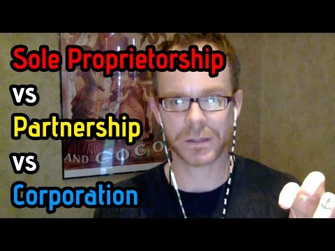 Should I File as Sole Proprietor, LLC or C Corporation?