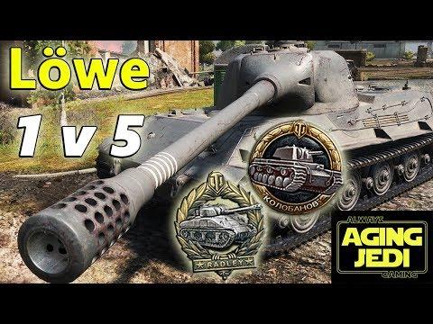 Löwe 1v5? No Problem! - World of Tanks