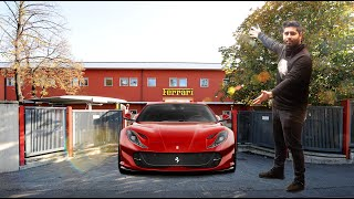 SPECCING MY 812 SUPERFAST AT THE FERRARI FACTORY