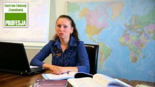 Студентка Центра Профессионального Образования «Профессия»