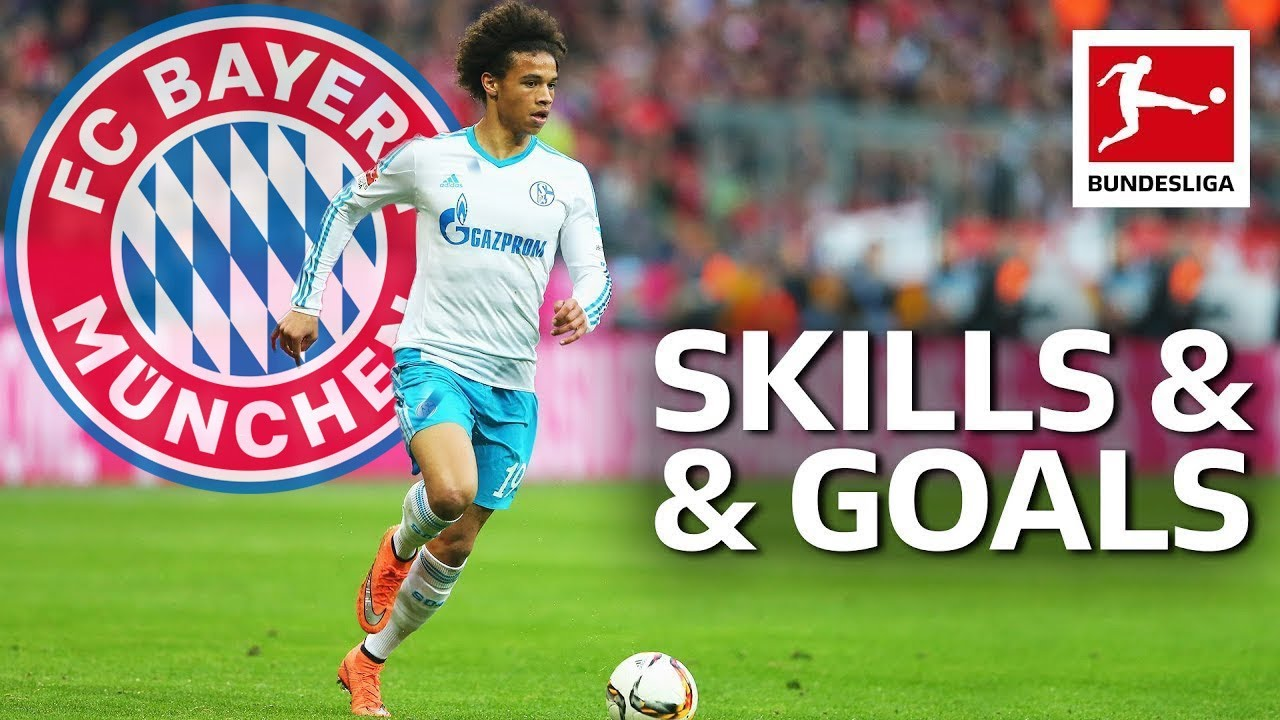 Leroy Sane • Magical Skills & Goals • Welcome to Bayern München
