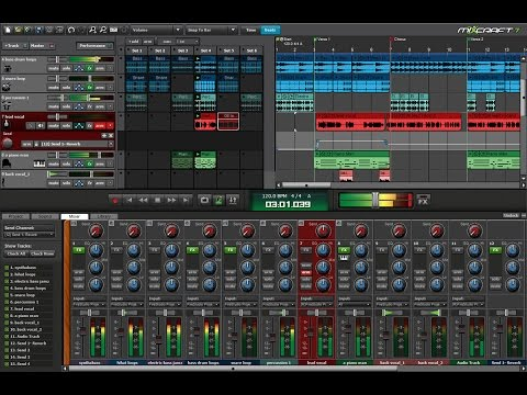 Introducing Mixcraft 7