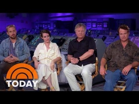 Ryan Gosling And Claire Foy Open Up About Filming First Man | TODAY