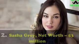 Pornstars: Top 10 richest female pornstars of all time