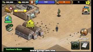 Modern War Hack - 999,999 Gold & Cash (Android iOS)