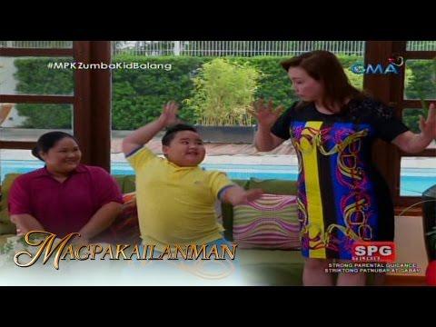 Magpakailanman: Mel Tiangco tries 'Zumba' with Balang