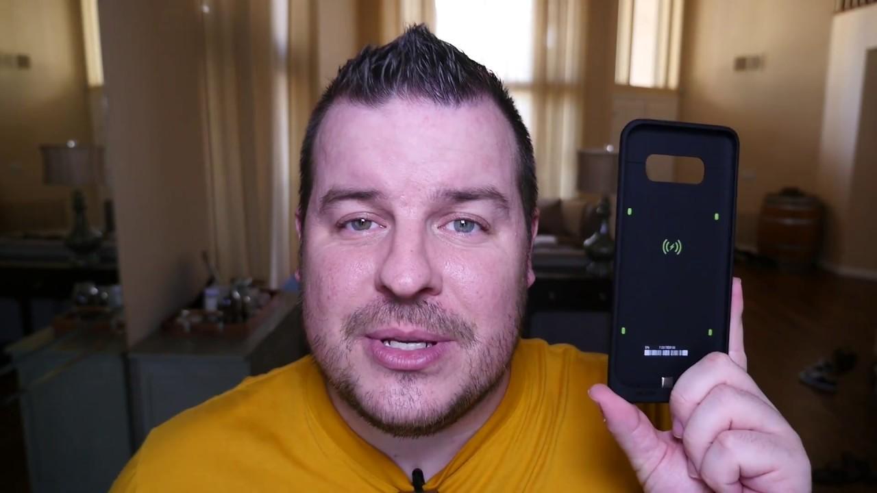 big sale e491a 0b9df Galaxy S8 Plus Mophie Juice Battery Case REVIEW