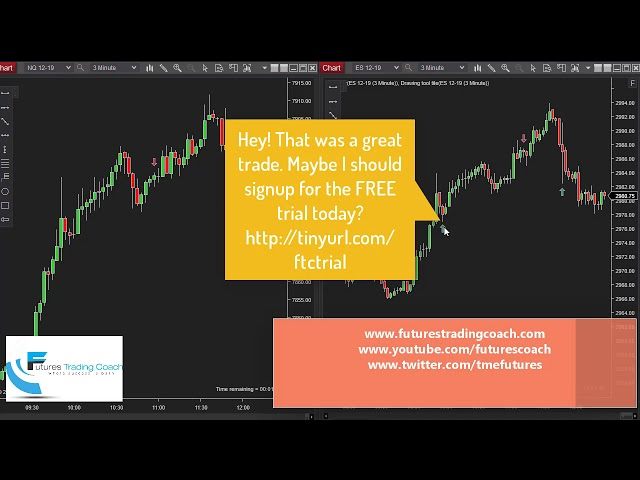 101119  -- Daily Market Review ES CL NQ - Live Futures Trading Call Room