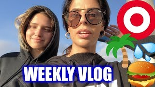 ERYN IS BACK ...so we went to Target | WEEKLY VLOG | LAURA LEE