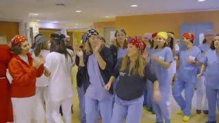 Natale al Meyer, ecco il balletto di medici e infermieri
