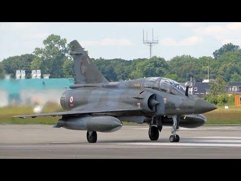 FULL AFTERBURNER Departure Mirage 2000 French Air Force; Gilze-Rijen Opendag 2014