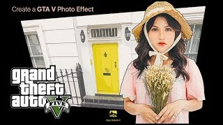 How to Create a GTA V Photo Effect Action in Adobe Photoshop BabArt iR