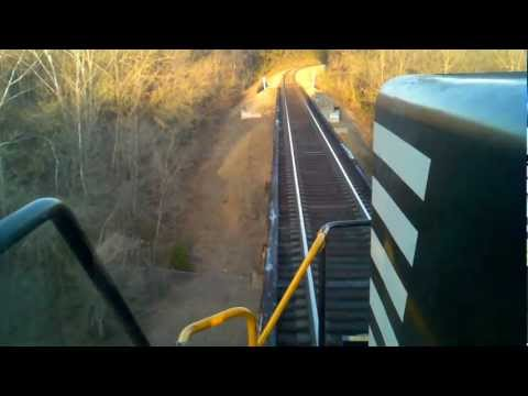 Norfolk Southern on the Pope Lick Bridge!