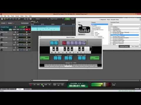 How To Record In Mixcraft 7
