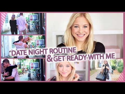 DATE NIGHT ROUTINE & GET READY With Me I Makeup, Outfit...