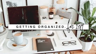 Getting Organized for 2019!