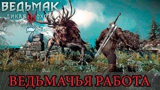 Ведьмачья работа (The Witcher 3: Wild Hunt)[1080p60fps] - Часть 7: Таинственные следы