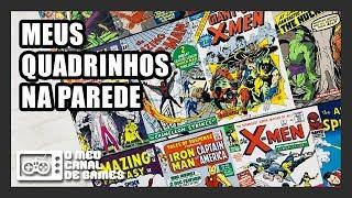 MEU CENÁRIO, MEU PAPEL DE PAREDE DE QUADRINHOS / SUPER HERÓIS [Game Room]