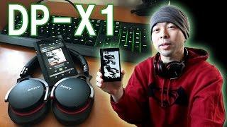 【音】最近のONKYOのデジタルオーディオプレーヤー「DP-X1」の使い道!やはり音がいいのは素敵♥