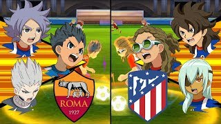 [Full HD 1080P] Inazuma Eleven UCL ~ Roma vs Atletico Madrid ※Pokemon Anchor※