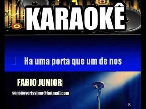 Karaokê Fabio Junior Sem Limites Pra...
