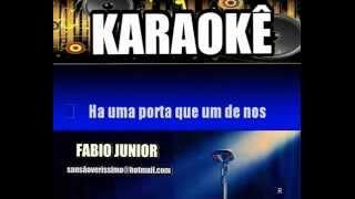 Karaokê Fabio Junior Sem Limites Pra Sonhar