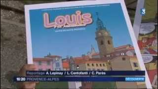 Reportage France 3 BD - Louis P'tit Ambassadeur