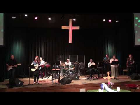 """Lift Your Head Weary Sinner"" Anniston First Methodist Praise Band"