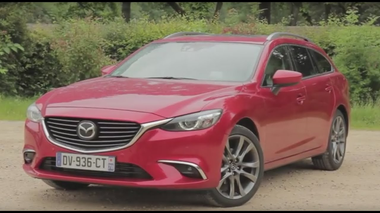 essai mazda 6 wagon awd 2 2l skyactiv d 175ch s lection youtube. Black Bedroom Furniture Sets. Home Design Ideas