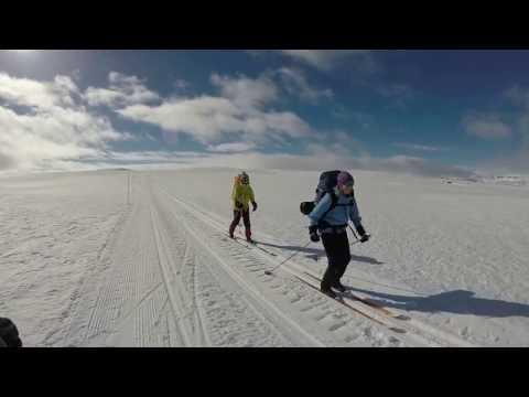 Skitur på Hardangervidda. Finse - Krækkja - Ustaoset