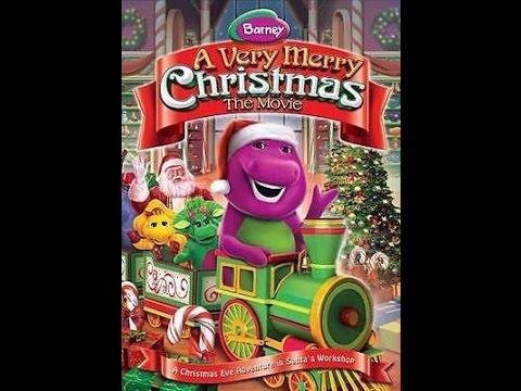 Barney A Very Merry Christmas The Movie Dvd.Opening To Barney A Very Merry Christmas The Movie 2014 Dvd 2016 Reprint
