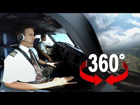 360° cockpit view